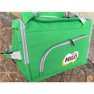 Balo kiêm túi xách du lịch Milo dạng hộp nhiều ngăn - Kt: (d47 x r27 x c29) cm