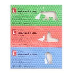 Hộp khăn giấy lụa Choice L 180 tờ 2 lớp - Nhãn hàng riêng của Lotte (Siêu thị Hàn Quốc)  Hop khan giay lua Choice L 180 to 2 lop - Nhan hang rieng cua Lotte (Sieu thi Han Quoc)