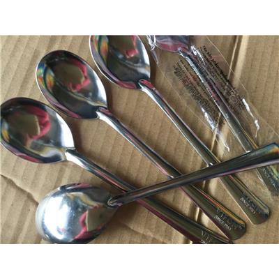 Bộ 6 muỗng inox VIFON ăn cơm - Muỗng dài 18.8 cm