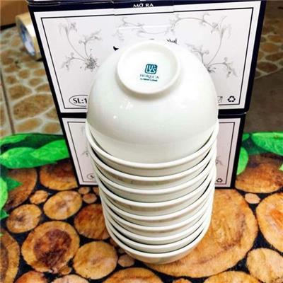 10 chén sứ ăn cơm MINH LONG LY'S - 5 HỘP  10 chen su an com MINH LONG LY'S - 5 HOP