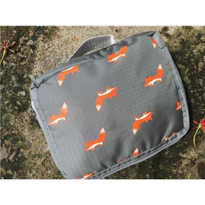 Balo nữ vải dù xếp gọn họa tiết con vật siêu đáng yêu - Kt: (45 x 40 x 16) cm