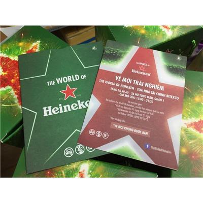 """Vé mời tham quan trải nghiệm """"The world of Heineken"""" tại tòa nhà Bitexco - Date: 15/05/2019"""