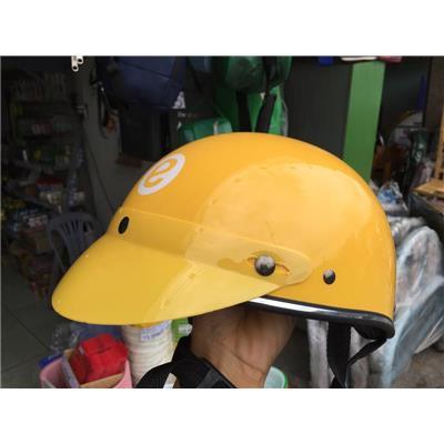 Nón bảo hiểm Emart nửa đầu, màu vàng