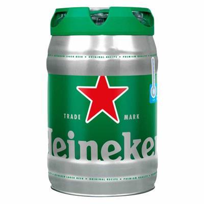 Bia Heineken nhập khẩu từ Hà Lan BOOM 5 lít có vòi rót - Date: 05/ 2019 (Không sỉ)