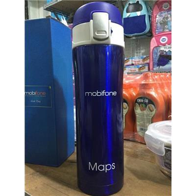 Bình giữ nhiệt lưỡng tính Mobifone 500ml  Binh giu nhiet luong tinh Mobifone 500ml