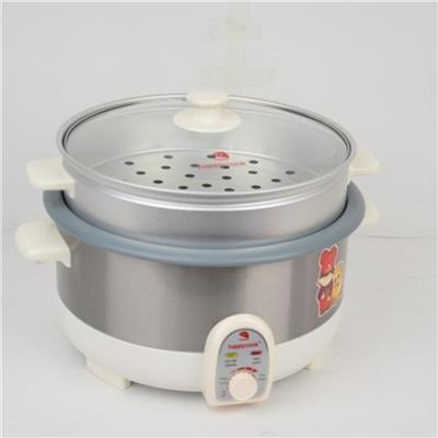 Nồi LẨU ĐIỆN CÓ XỬNG HẤP Happycook HCHP-350ST 3.5 lít - Sữa Nutifood tặng  Noi LAU DIEN CO XUNG HAP Happycook HCHP-350ST 3.5 lit - Sua Nutifood tang