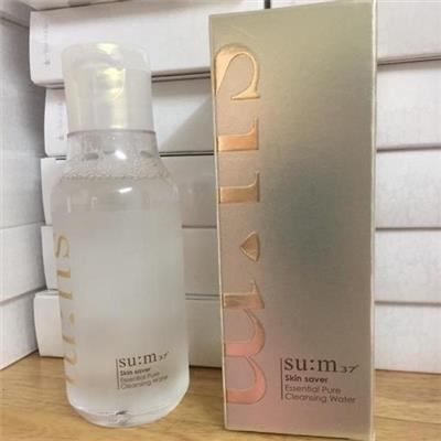 SU:M37˚ Skin Saver Essential Pure Cleansing Water - Nước tẩy trang đa tính năng 3 trong 1 chai 100ml - Date: 06/2021