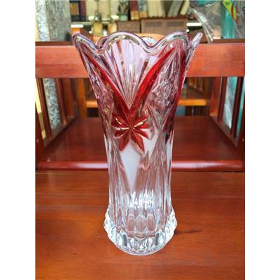 Bình cắm hoa thủy tinh màu miệng loe cao 20 cm, có hộp - Bình CỠ TRUNG thích hợp cắm cúc, vạn thọ...