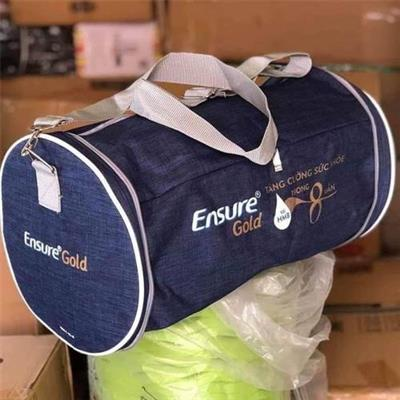 Túi trống Ensure 2 ngăn xếp gọn - Kt: (45 x 26 x 26) cm