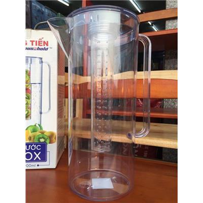 Bình nước Detox 2 lít nhựa Đại Đồng Tiến L1645 có lõi lọc
