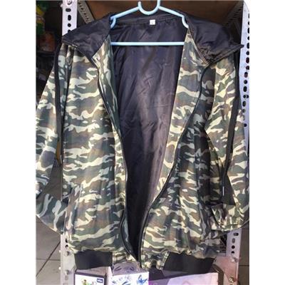 Áo khoác cao cấp 2 lớp có nón màu lính, SONY EXTRABASS tặng - Size M