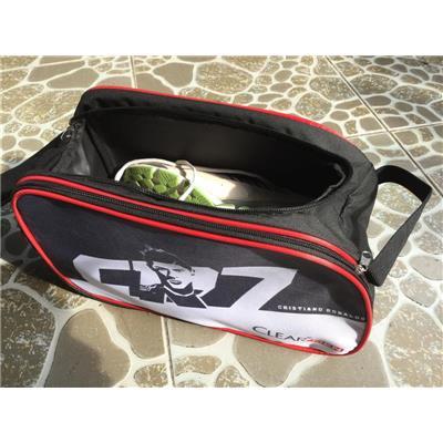 Túi đựng giày thể thao ClearMen 2 ngăn có quai đeo - Kt: (33 x 17 x 19) cm