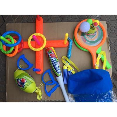 Bộ đồ chơi thể thao Enfa nhiều môn giúp bé tăng cường vận động