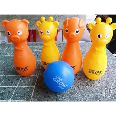 Bộ đồ chơi Bowling Abbott Grow hình thú cho bé