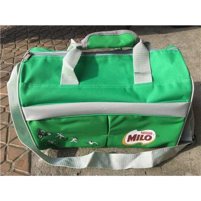 Túi xanh du lịch cá nhân MILO màu XANH cỡ nhỏ - Kt: (35 x 22 x 23) cm