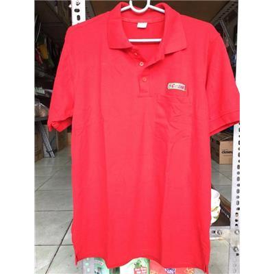 Áo thun Castrol có cổ, tay ngắn cho nam size XL - Màu đỏ