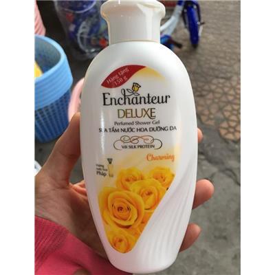 Chai sữa tắm nước hoa dưỡng da Enchanteur 150g- Date: 2022