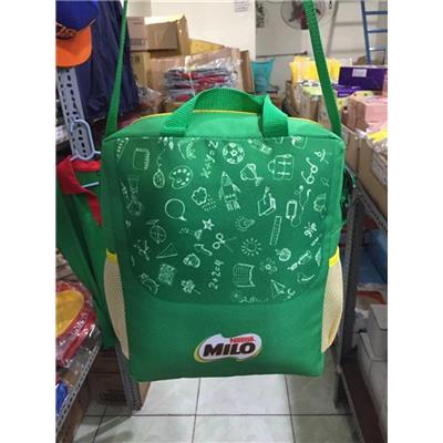 Túi xách ĐEO CHÉO Milo cho bé, để vừa sách Anh Văn tiểu học - Kt: (31 x 25 x 10) cm
