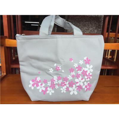 Túi giữ nhiệt UNICHARM XÁM in hoa - Kt: (30 x 22 x 9) cm