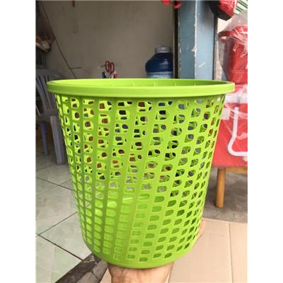 Sọt rác tròn nhựa Tân Lập Thành - Kt: (26 x 26 x 25) cm