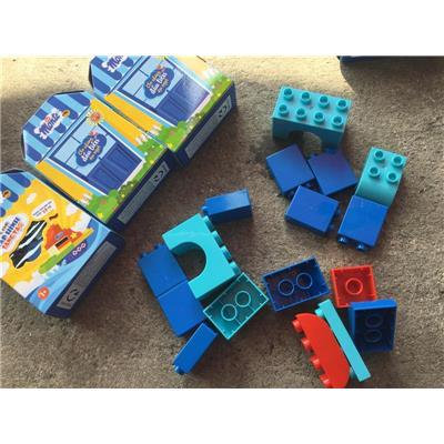 Bộ 3 hộp ráp hình sáng tạo Monte cho bé (3 MẪU KHÁC NHAU)