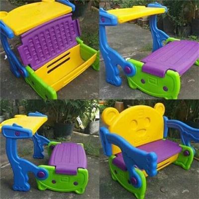 (KHÔNG SỈ) Bộ bàn ghế Abbott đa năng 3 trong 1 bằng nhựa dày cho bé - Phí giao hàng tính riêng 10 ngàn