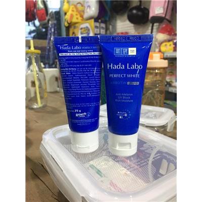 Kem rửa mặt dưỡng trắng Hada Labo 25g - Date: 07/2021