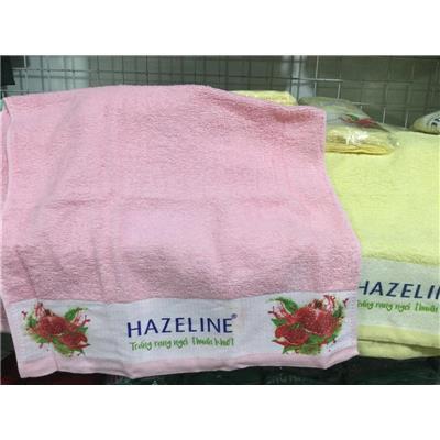 """Khăn Hazeline """"TRẮNG RẠNG NGỜI THUẦN KHIẾT"""" - Kt: (60 x 35) cm"""