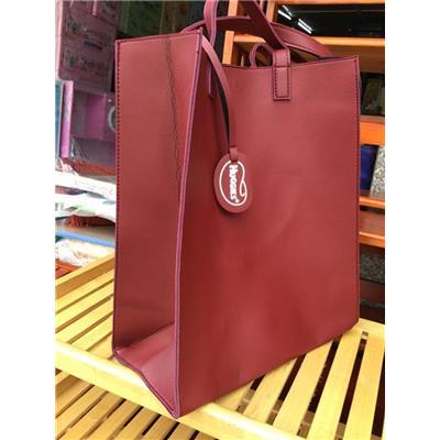 Túi xách thời trang HUGGIES simili kiểu chữ nhật dáng đứng - Kt: (35 x 30 x 15) cm