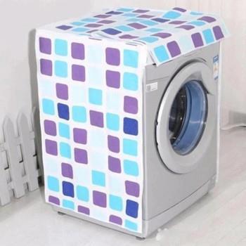 Áo Trùm Máy Giặt CỬA TRƯỚC Size Lớn (9 - 12Kg) - Kt: (61 x 64 x 90) cm - Giao Mẫu Ngẫu Nhiên