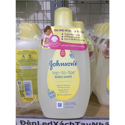 Chai Sữa Tắm Gội Toàn Thân Johnson