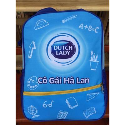 Balo Dutch Lady 4 Ngăn Cho Bé MÀU XANH - Kt: (36 x 28 x 12) cm