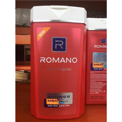 Chai Sữa Tắm Nam Cao Cấp ROMANO Attitude 380g - Date: 12/2020