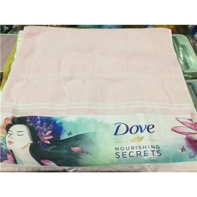 Khăn tắm Dove HỒNG Cô Gái Và Hoa - Kt: (100 x 50) cm