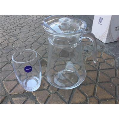 HỘP 1 Bình + 1 Ly Thủy Tinh Unilever Tặng