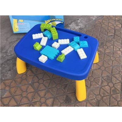 Bộ Bàn Nhựa Lắp Ráp Hình Khối Friso - Kt: (43.5 x 31 x 21.5) cm