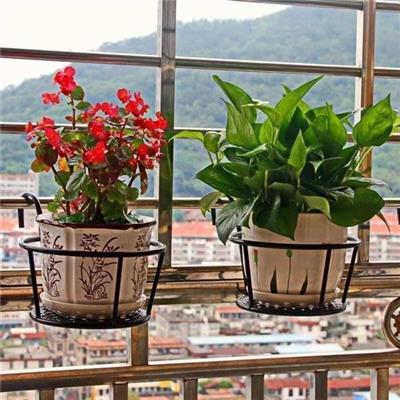 Giá Để Chậu Hoa Mini Ngoài Ban Công - Kt: (22 x 18 x 12) cm
