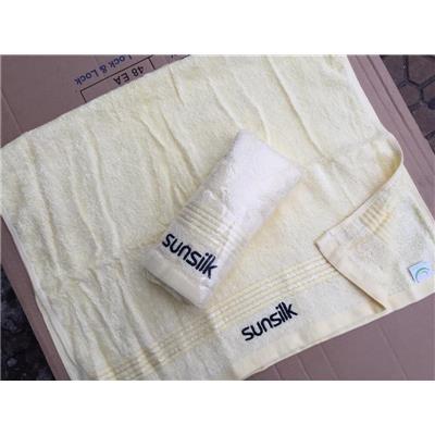 Khăn Tắm SUNSILK Màu VÀNG - Kích thước: (80 x 50) cm