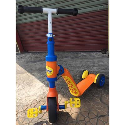 Xe Scooter 2 Trong 1 Abbott Grow Kiêm Xe Chòi Chân Cho Bé 2 - 6 Tuổi