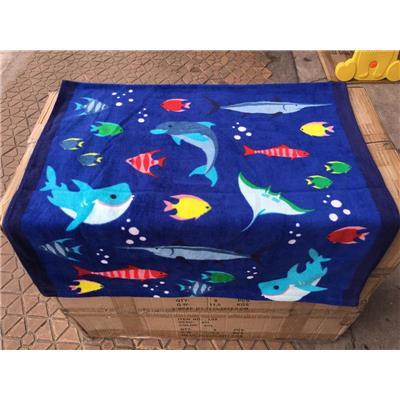 Khăn Tắm Cỡ Lớn Đại Dương Xanh - Kích Thước: (120 x 60) cm
