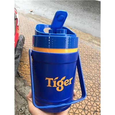 Bình Đá Tiger 1.6 Lít Nhựa Hiệp Thành MS061 Có Quai Xách  Binh Da Tiger 1.6 Lit Nhua Hiep Thanh MS061 Co Quai Xach
