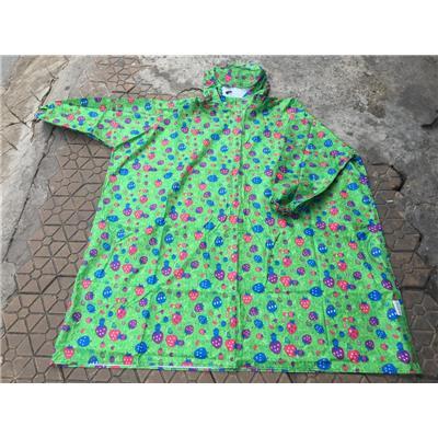 Áo Mưa Bít Vải Dù Thời Trang Cho Nữ, Kèm Túi Đựng - Kích Thước: (110 x 105) cm