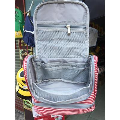 Sọc Đỏ: Túi Cá nhân Ensure Gold Nhiều Ngăn Có Móc Treo- Kt: (24 x 20 x 12) cm