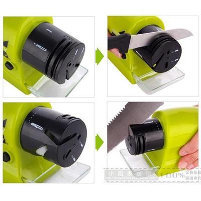 Máy Mài Dao Kéo Mini Dùng Pin - Kt: (15 x 8.5 x 5.5) cm - Kèm 4 Pin AA