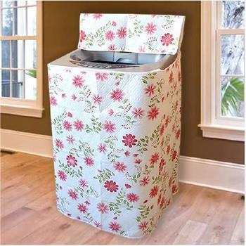 Áo Trùm Máy giặt CỬA TRÊN Size LỚN (9 - 12Kg) - Kt: (61 x 64 x 90) cm - MẪU NGẪU NHIÊN