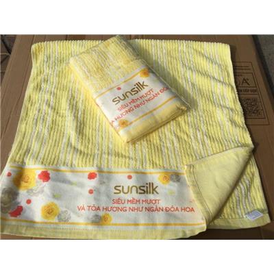 Khăn Tắm Sunsilk Màu VÀNG - Kt: (50 x 100) cm