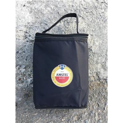 Túi giữ Nhiệt Amstel MÀU ĐEN Hình Chữ Nhật Đứng - Kt: (29 x 21 x 12) cm