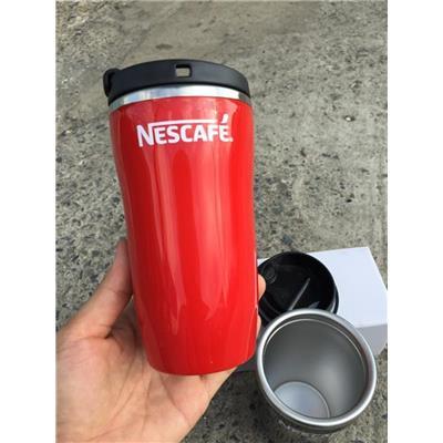 ĐỎ: Ly giữ Nhiệt Nescafe Nhỏ Xinh Dung Tích 250ml - Kt: (14.5 x 7.5 x 5.5) cm