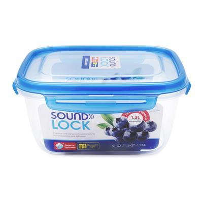 Hộp Nhựa Chữ Nhật Sound Lock Lock&Lock 1.5 Lít LEP552