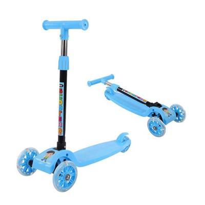 XANH: Xe Scooter Có Đèn (Ở Bánh Xe) Cho Bé 3 - 6 Tuổi